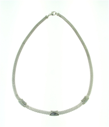 NLS0047 Sterling Silver Necklace