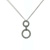 PLD0005 18k White Gold Diamond Pendant