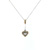 PLD0008 18k Rose Gold Diamond Pendant