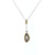 PLD0009 18k Rose Gold Diamond Pendant