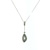 PLD0010 18k White Gold Diamond Pendant