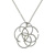 PLD01002 18k White Gold Diamond Pendant