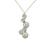PLD01013 18k White Gold Diamond Pendant