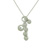 PLD01014 18k White Gold Diamond Pendant