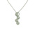 PLD01015 18k White Gold Diamond Pendant