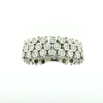 R000002 18k White Gold Diamond Ring