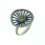 R000009 18k White Gold Diamond Ring