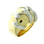 RLB01003 18k Yellow & White Gold Ring