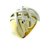 RLB01004 18k Yellow & White Gold Ring