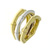 RLB01027 18k Yellow & White Gold Ring