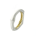 RLB01030 18k White & Yellow Gold Ring