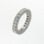 RLD0013 18k White Gold Diamond Ring