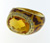 RLD0046 18k Yellow Gold Diamond Citrine Ring