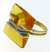 RLD0049 18k Yellow & White Gold Diamond Citrine Ring