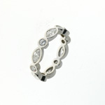RLD0052 18k White Gold Diamond Ring