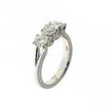RLD0055 18k White Gold Diamond Ring