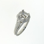 RLD0056 18k White Gold Diamond Ring