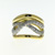 RLD0069 18k White & Yellow Gold Diamond Ring