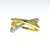 RLD0070 18k White & Yellow Gold Diamond Ring