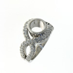 RLD0075 18k White Gold Diamond Ring