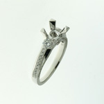 RLD0086 18k White Gold Diamond Ring