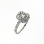 RLD0093 18k White Gold Diamond Ring
