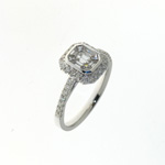 RLD0094 18k White Gold Diamond Ring