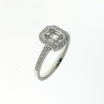 RLD0095 18k White Gold Diamond Ring