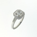 RLD0096 18k White Gold Diamond Ring