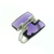 RLD01024 18k White Gold Diamond Amethyst Ring