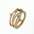 RLD01027 18k Rose Gold Diamond Ring