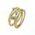 RLD01029 18k Yellow Gold Diamond Ring