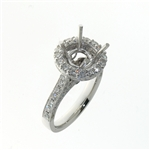 RLD01086 18k White Gold Diamond Ring