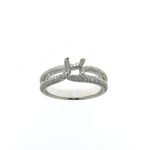RLD01099 18k White Gold Diamond Ring