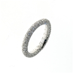 RLD01114 18k White Gold Diamond Ring
