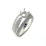 RLD01118 18k White Gold Diamond Ring