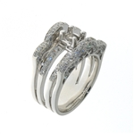 RLD01138 18k White Gold Diamond Ring