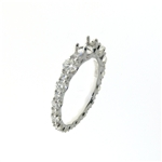 RLD01150 18k White Gold Diamond Ring