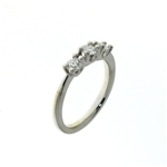 RLD01198 18k White Gold Diamond Ring