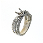 RLD01215 18k White Gold Diamond Ring