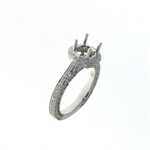 RLD01295 18k White Gold Diamond Ring