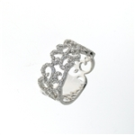 RLD01430 18k White Gold Diamond Ring