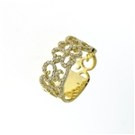 RLD01432 18k Yellow Gold Diamond Ring