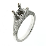 RLD5192 18k White Gold Diamond Ring