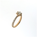 RLD6052 18k Rose Gold Diamond Ring