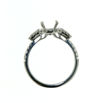 RLD01032 18k White Gold Diamond Ring