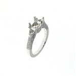 RLD01186 18k White Gold Diamond Ring