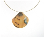 SG1094 Sterling Silver Shell Necklace