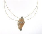 SG1104 Diamond Pearl Seashell Necklace