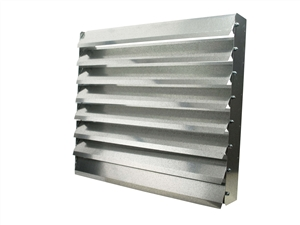 louver grill for 220,000 btu air handler
